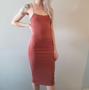 Dynamite bodycon midi dress